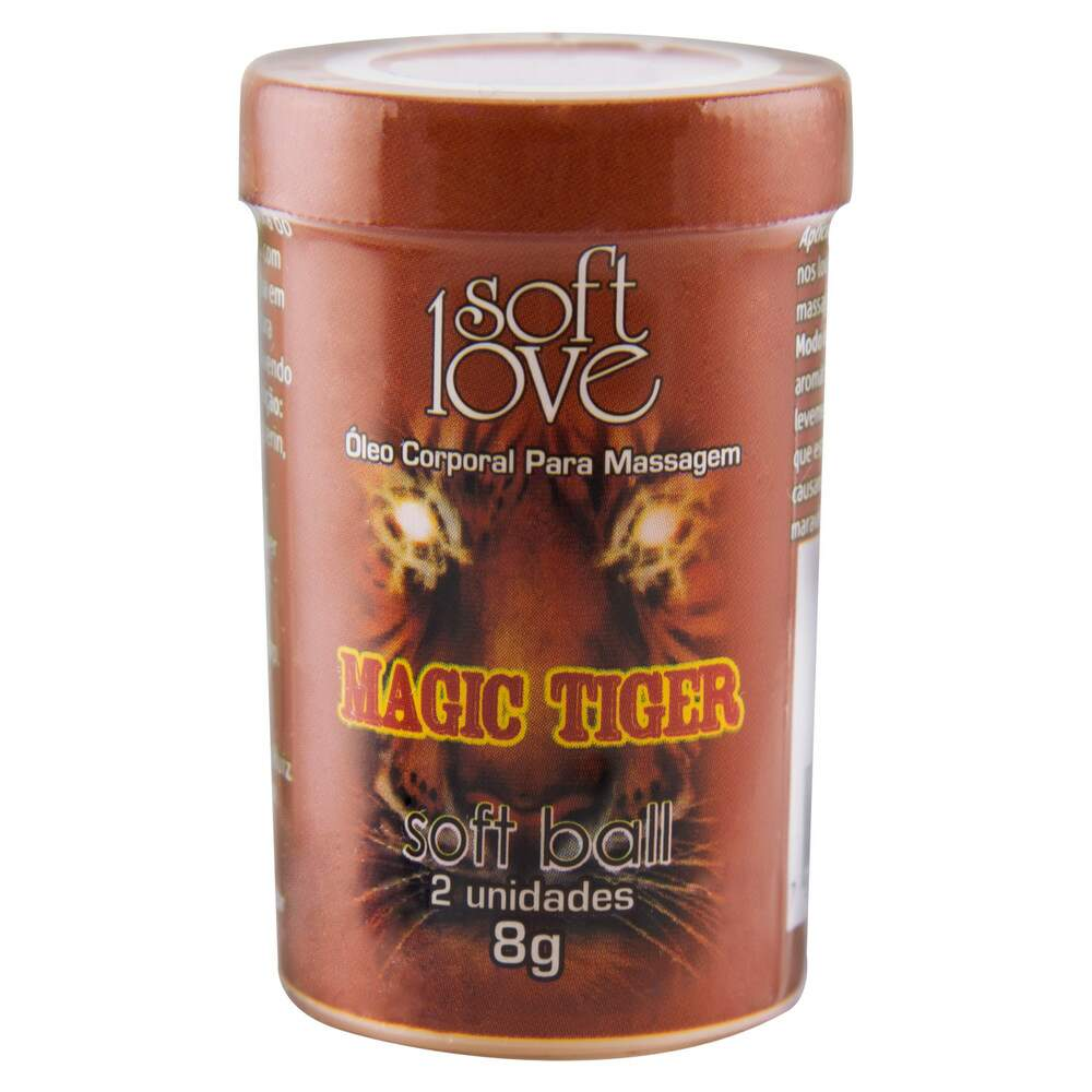 Bolinha Excitante Funcional Magic Tiger - Soft Love
