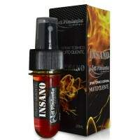 Excitante Premiun Unissex Spray Quente Insano