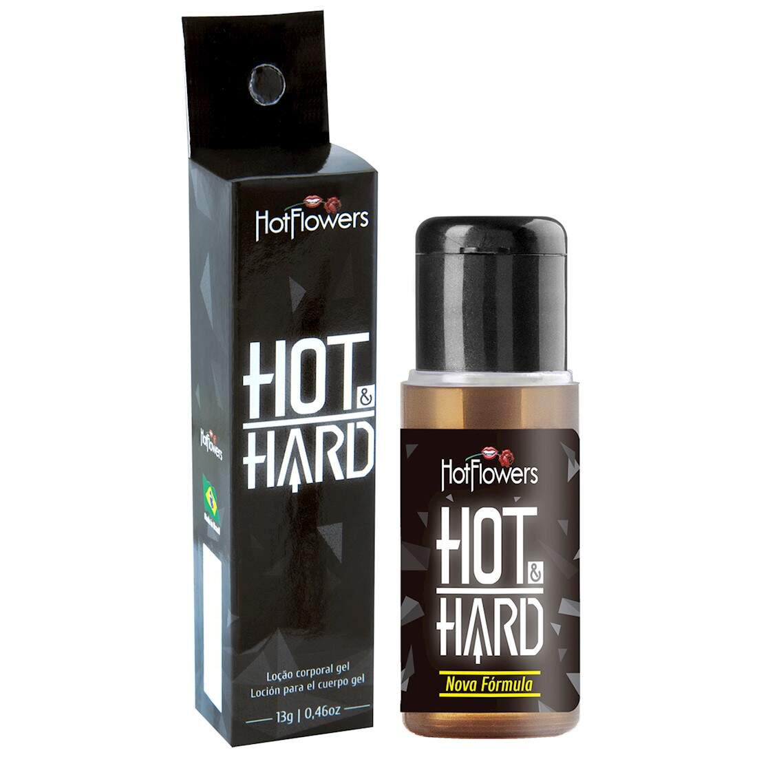 Hot Hard  Excitante Masculino - Hot Flowers