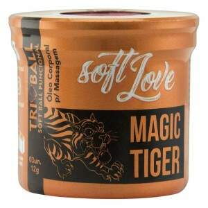 Bolinha Excitante Funcional Magic Tiger 3un - Soft Love