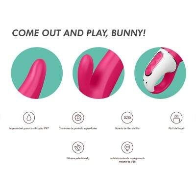 Vibrador Satisfyer Mister Rabbit