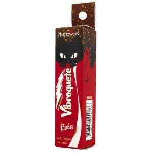 Gel excitante para sexo oral Vibroquete Cola 12g - Hot Flowers