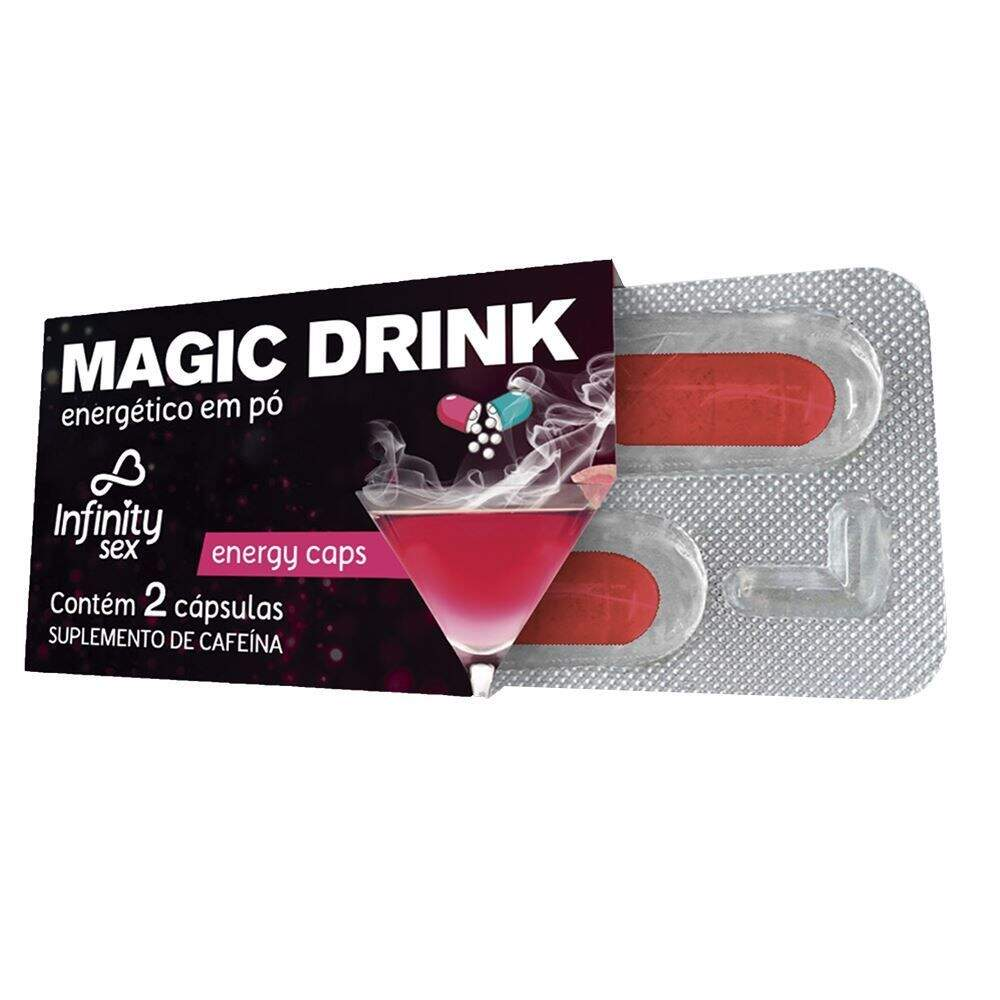 Energético Sexual Magic Drink em Cápulsas