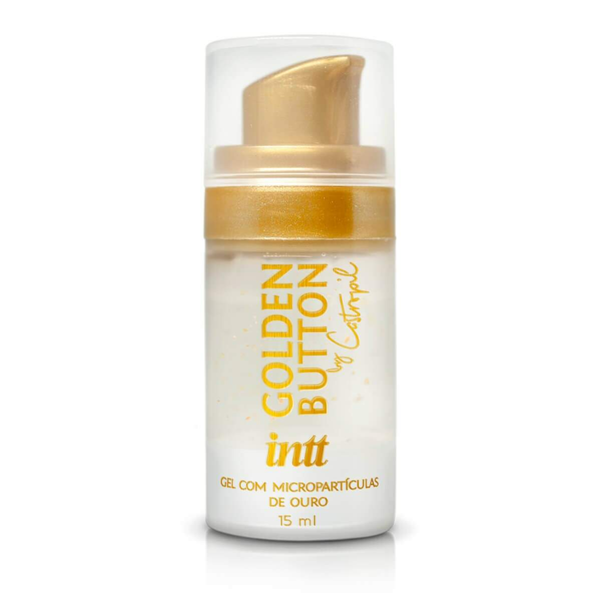 Gel Facilitador Anal com Micropartículas de Ouro 23k Golden Botton By Castropil - Intt