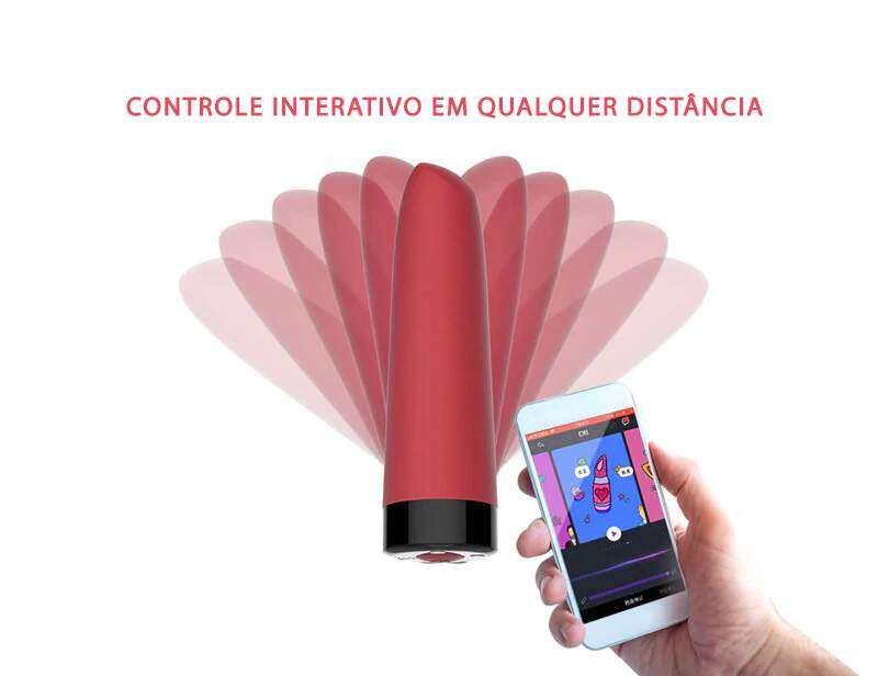 Vibrador Personal Recarregável Controlado por App Awaken Magic Motion
