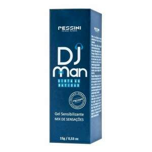 Gel Excitante Masculino Dj Man Pessini
