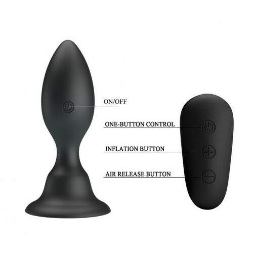 Plug Anal com Controle - MR PLAY - Pretty Love