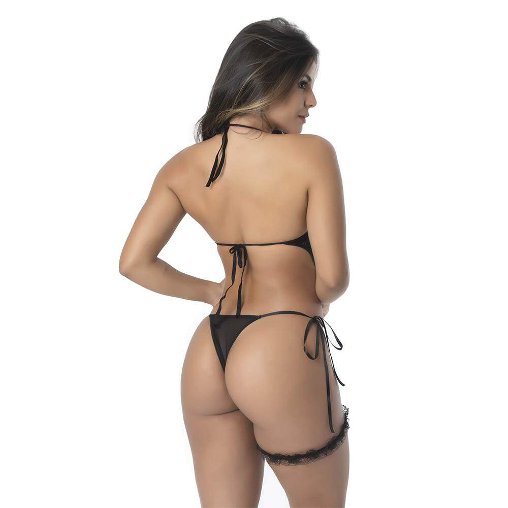 Kit Body Sensual Tailandês - Preto