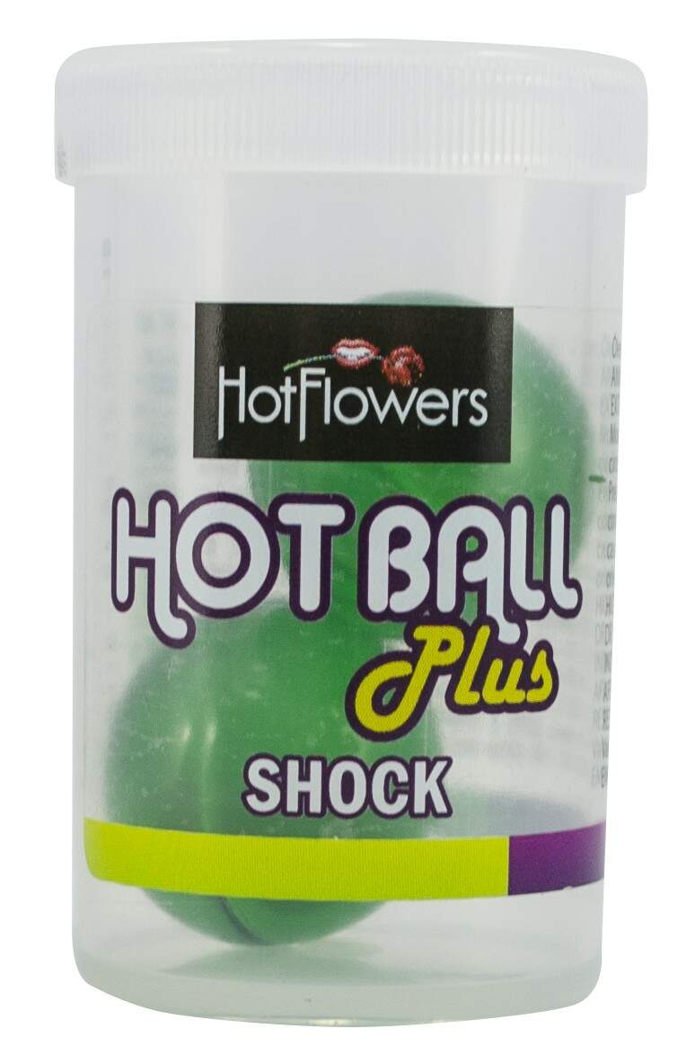 Bolinha Excitante Hot Ball Plus Shock  - Hotflowers