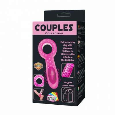 Anel Peniano com vibro Couples - Lolla Import