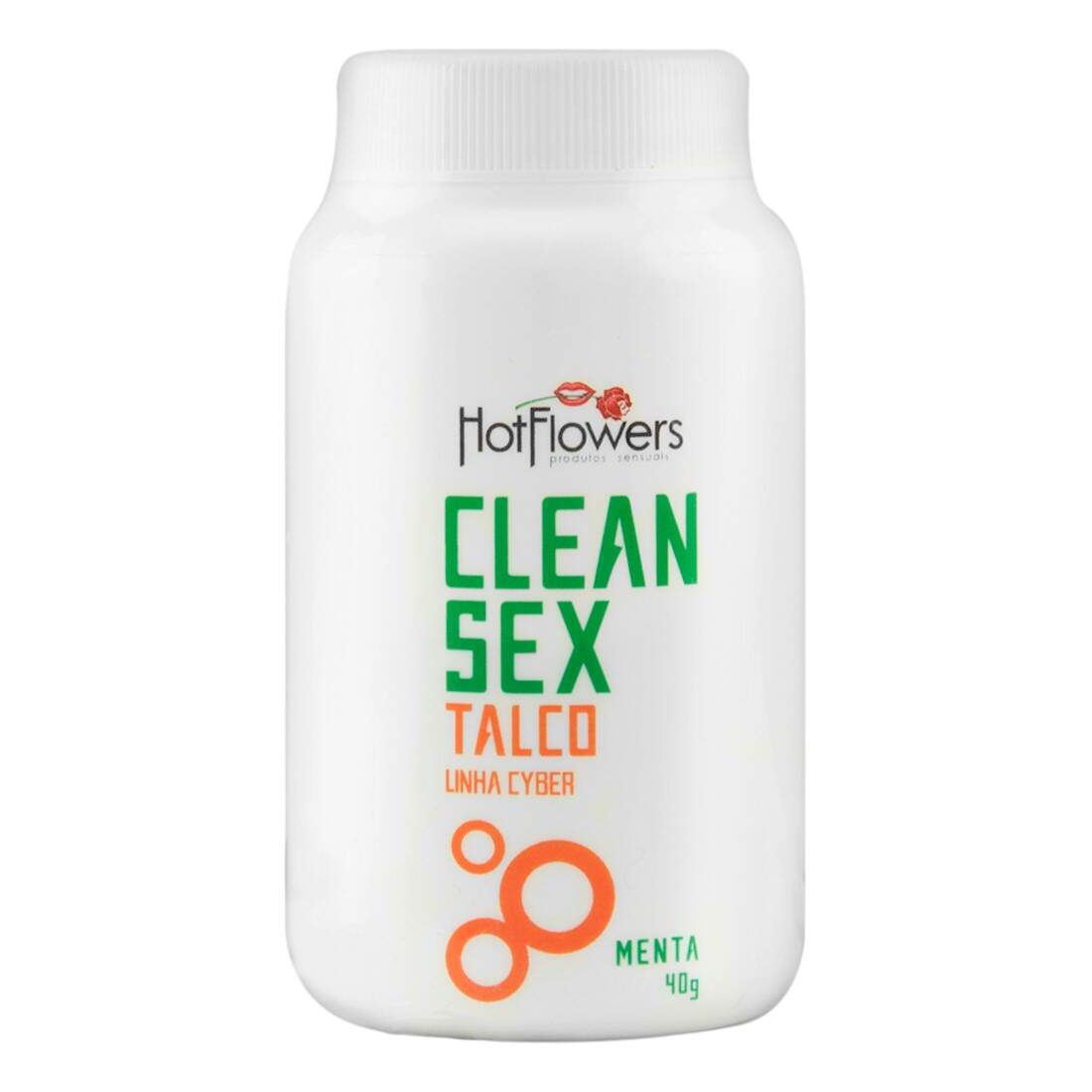 Talco Clean Sex Menta - Hotflowers