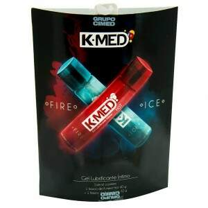 Kit Lubrificante Fire e Ice - K-med