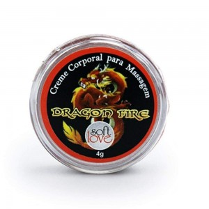 Excitante Hot Unissex Dragon Fire creme 4g - Soft Love