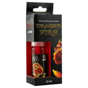 Excitante Unissex Dragon Fire Spray  15ml - Soft Love