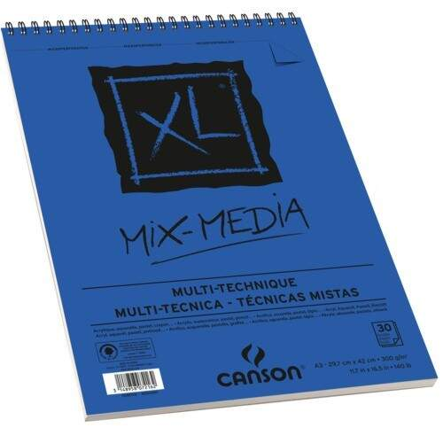 CADERNO MIX MEDIA A4 XL 300G CANSON