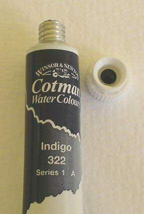TINTA AQUARELA 8ML 322 INDIGO COTMAN
