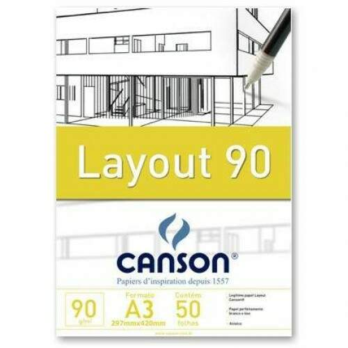 Canson Layout A3 90g