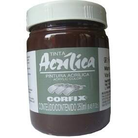 TINTA ACRILICA 250ML 64 MARRON VAN DICK CORFIX