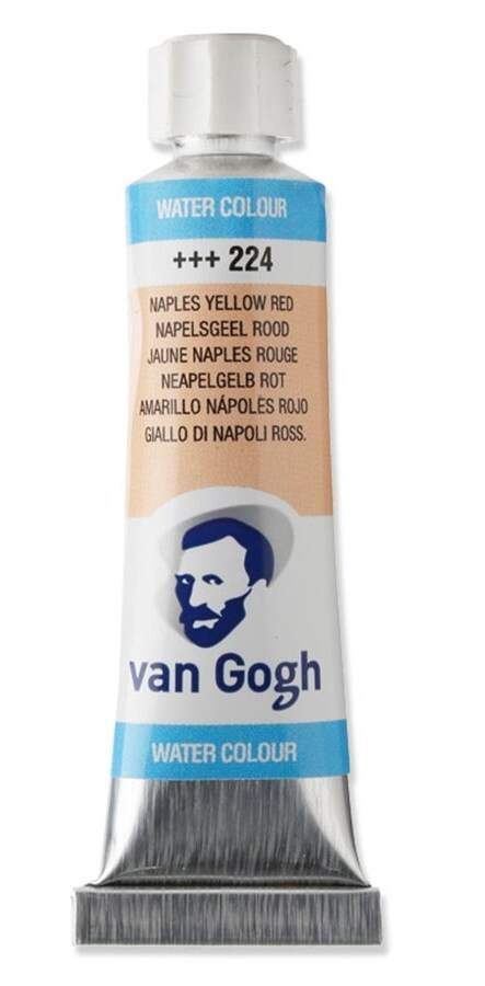 TINTA AQUARELA 10ML 224 NAPLES YELLOW RED VAN GOGH