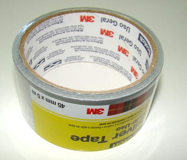 Fita desiva Silver Tape multi-uso 45mmx5m Scotch 3M