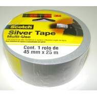 Fita adesiva Silver Tape multi-uso 45mmx25m Scotch 3M