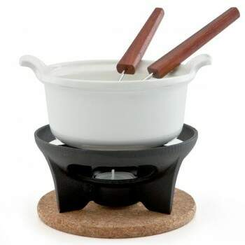 Fondue Le Creuset Chocolate branco 400ml 608000001