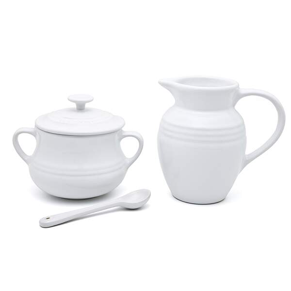Kit Cream Sugar Le Creuset branco 9100080001