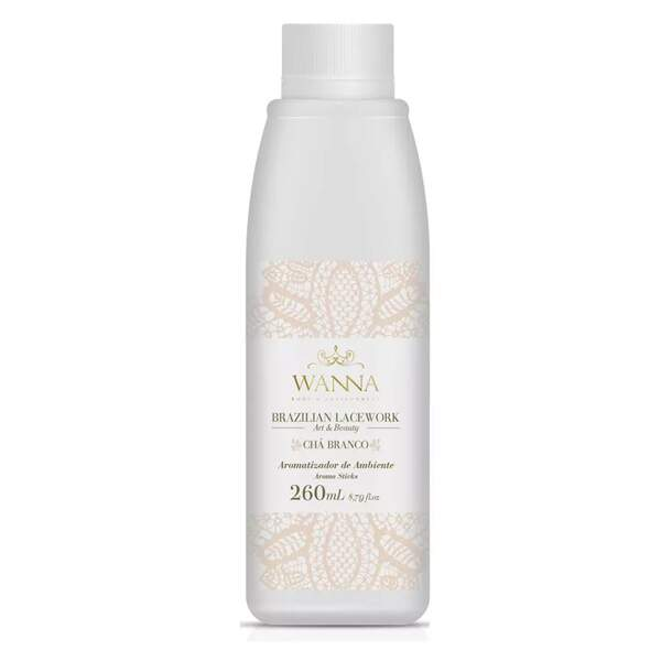 Refil aromatizador de ambiente Chá Branco 260ml WANNA 131069