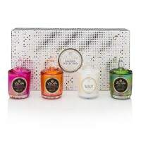 Kit 4 velas copo 25h com tampa Maison Holiday Voluspa 2898