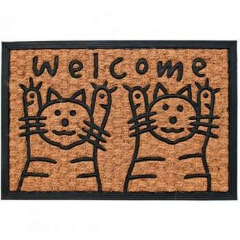 Capacho Welcome Kittens Cocotuft 40x60cm CO-RMCPA00317