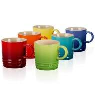 Conjunto canecas Le Creuset Gift Collection 350ml cores 6 peças