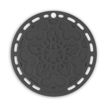 Suporte silicone Le Creuset French Black Onix