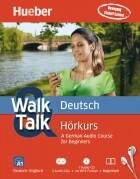 Walk & Talk Deutsch Hörkurs - 2 Audio-CDs + 1 MP3-CD + Begleitheft