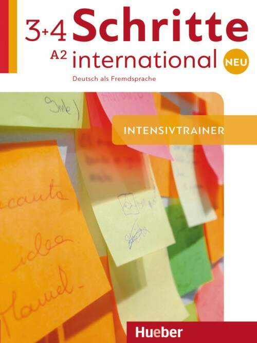 Schritte international Neu 3+4 - Intensivtrainer mit Audio-CD