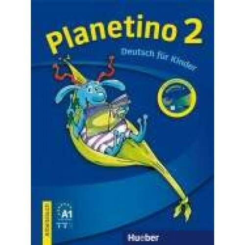 Planetino 2 - Arbeitsbuch + CD-ROM - A1/2