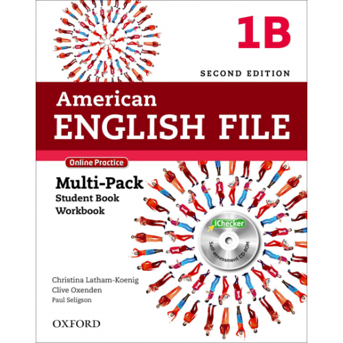 American English File 1B - Multipack Second edition