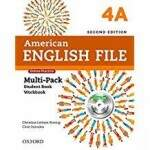 American English File 4A - Multipack - Second edition
