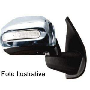 APLIQUE CROMADO RETROVISOR STRADA/PALIO ADV/LOCKER 08/11 IDEA ADV/LOCKER 08/10