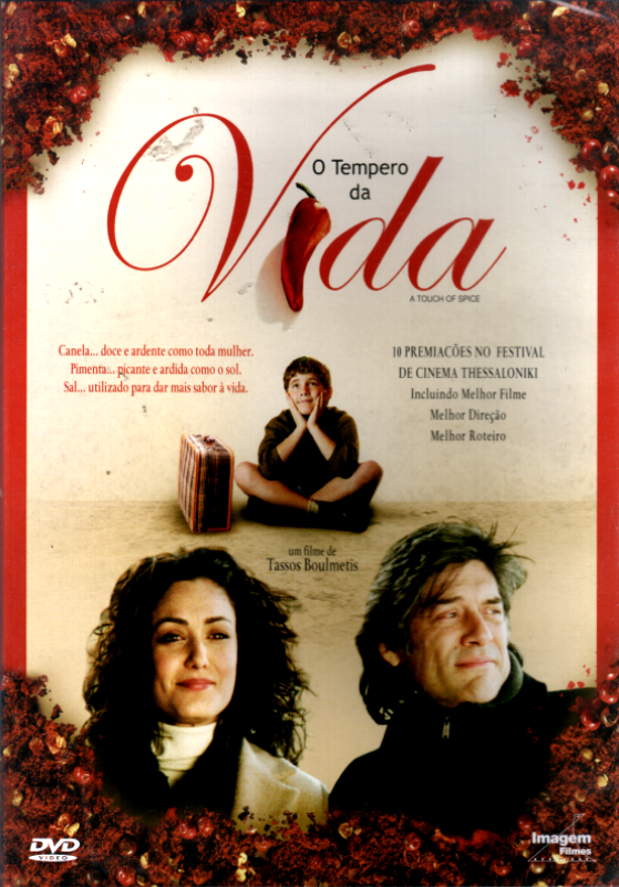 O Tempero da Vida - ( A Touch Of Spice ) [Seminovo]