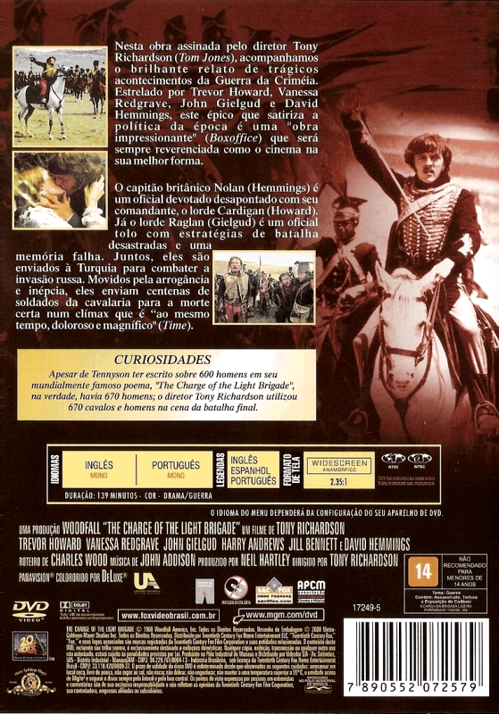 A Carga da Brigada Ligeira - ( The Charge of the Light Brigade )