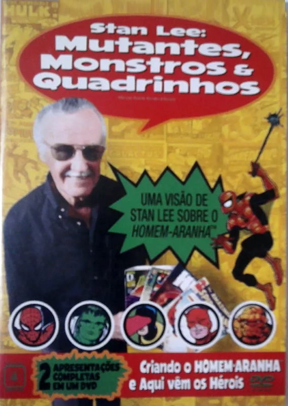 Stan Lee: Mutantes, Monstros e Quadrinhos - ( Stan Lee: Mutants, Monsters and Marvels )