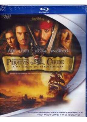 Piratas do Caribe - A Maldição do Pérola Negra - ( Pirates Of The Caribbean - The Curse Of The Black Pearl )  [ Blu-Ray ]