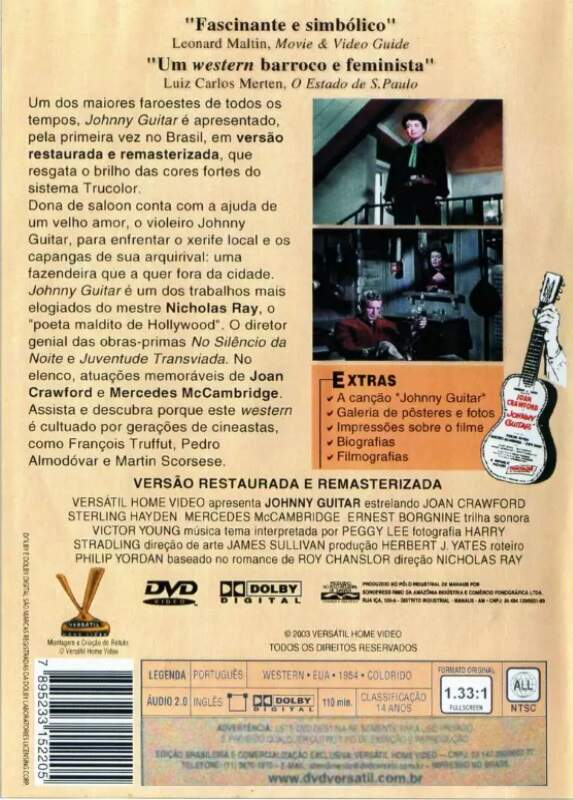 Johnny Guitar  - ( Johnny Guitar ) Ed. Versártil