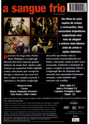 A Sangue Frio (2000) - ( The Way Of The Gun )