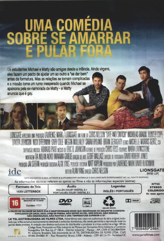 Saindo do Armário (2013) - ( Date and Switch )