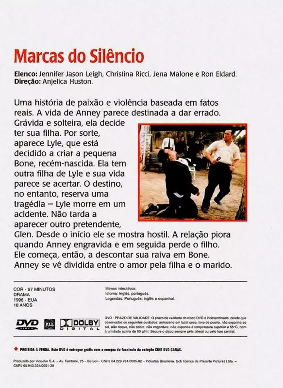 Marcas do Silêncio - ( Bastard Out of Carolina )