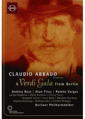 Claudio Abbado Conducts a Verdi Gala from Berlim