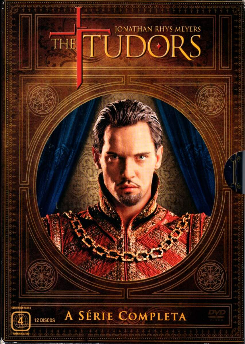 The Tudors - Minisserie Completa (12 DVDs) - ( The Tudors - Complete Seasons )
