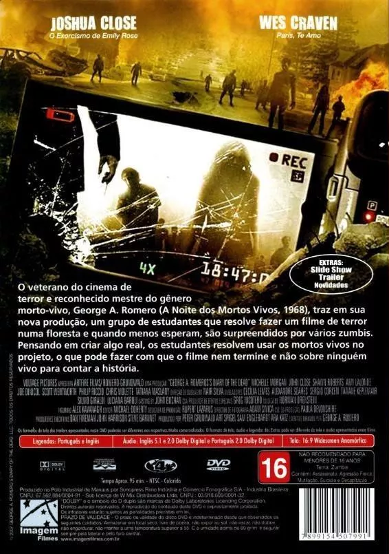 Diário dos Mortos - ( Diary of the Dead )
