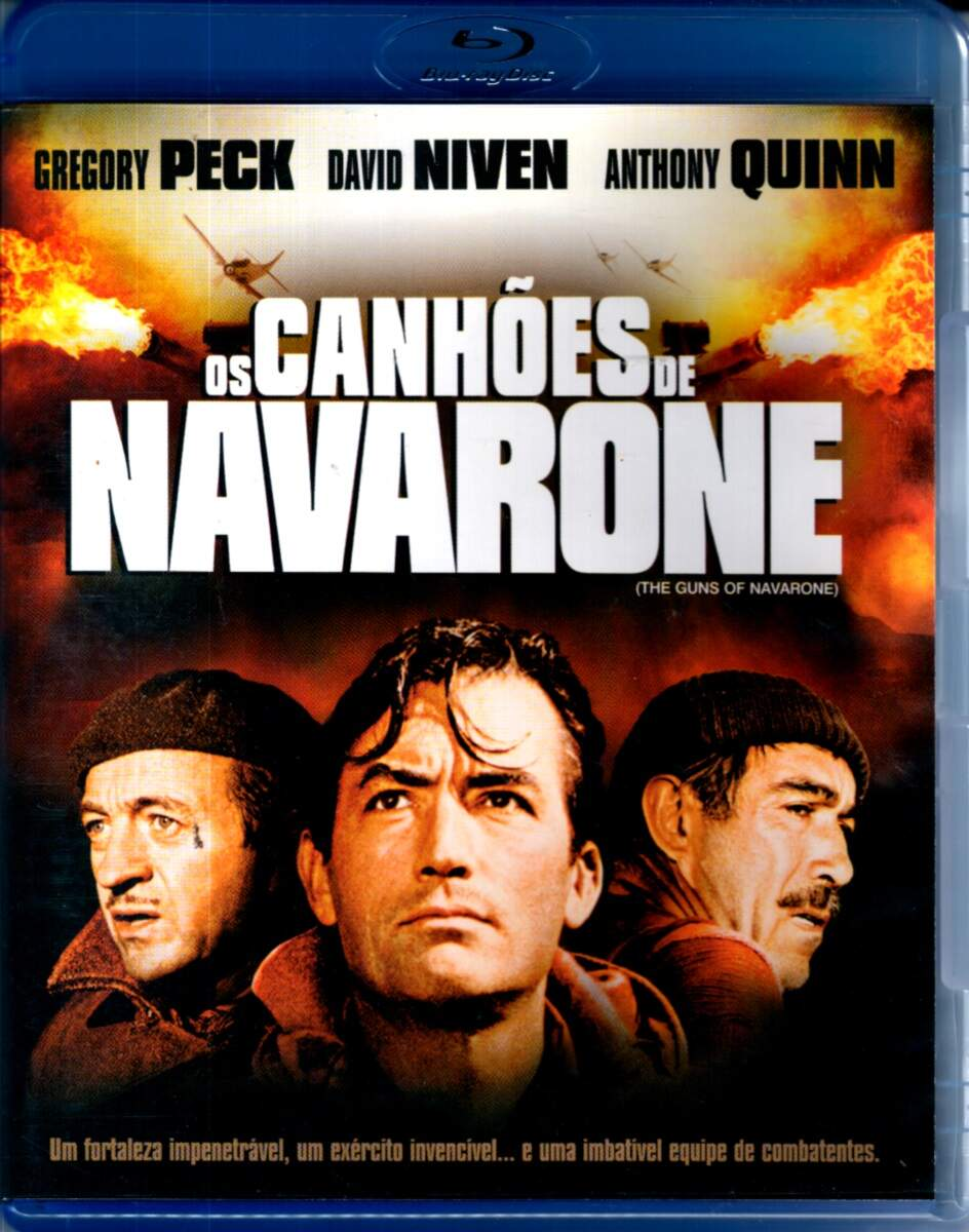 Os Canhões de Navarone -  ( The Guns of Navarone ) [ Blu-Ray ]